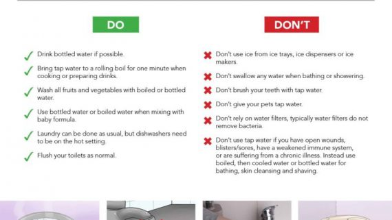 Boil Water Advisory Response And Tips